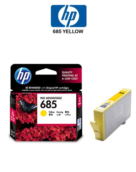 Cartridge Original Hp 685 Hp 685 Hp685 Magenta Cz123aa hp 685 yellow ink cartridge