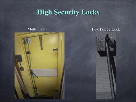 Sledge Door Knobs by Buffalo Grove Dept Forcible Entry Ppt