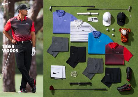 Golf Wardrobe by Tiger Woods Wardrobe Caddie Plan On Pga