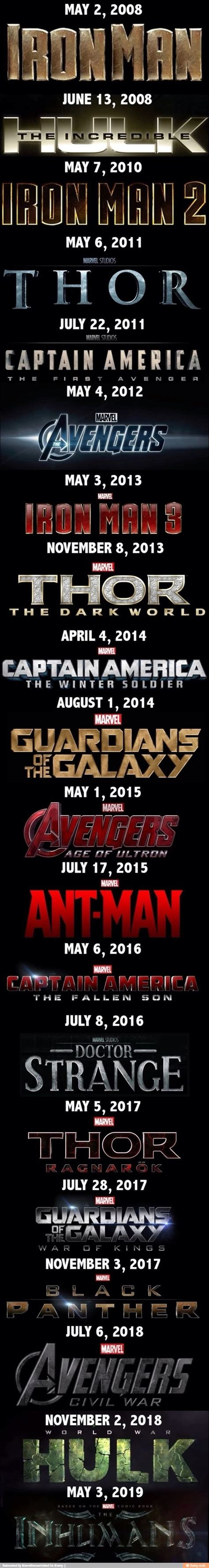 marvel release dates 17 best ideas about release date on black