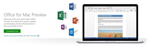 Office Mac 2015 by