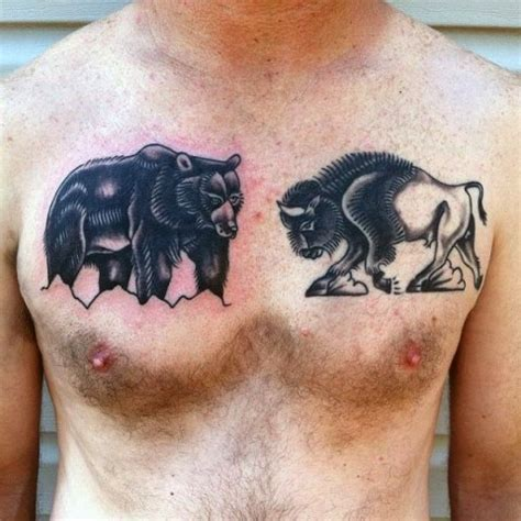 bison tattoo designs 20 bison ideas for styleoholic