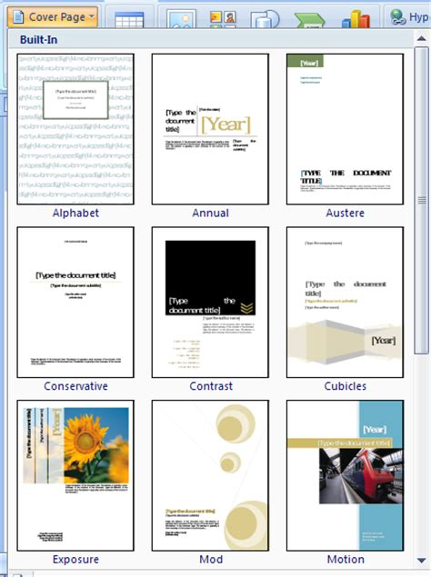 word templates for cover pages microsoft word cover page templates free cover letter