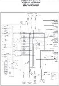 1995 jeep grand cherokee laredo radio wiring diagram