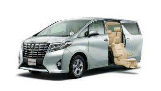 Toyota In Toyota Unveils New Alphard And Vellfire Minivans In Japan