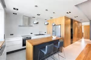 Contemporary Kitchen Islands With Seating - sillas y taburetes para islas de cocina