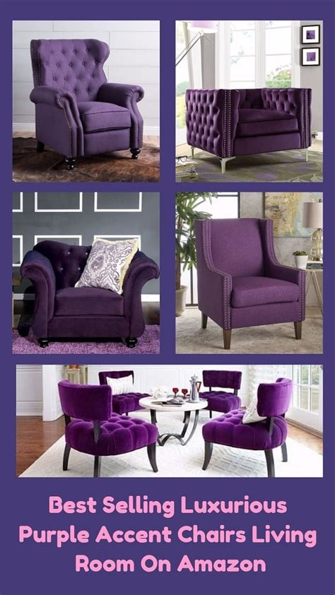 accent chairs for bedrooms amazon com best selling luxurious purple accent chairs living room on