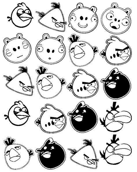 angry birds go karts coloring pages kids n fun angry birds go coloring pages angry birds go