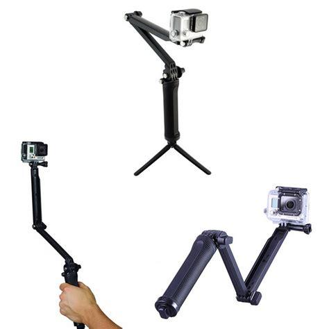 3 Way Grip Arm Pole Monopod Tongsis Tripod For Grip Tripods For Gopro 3 Way Monopod Arm Mount Adjustable