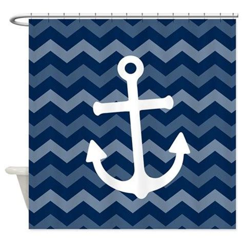 blue and white chevron shower curtain 1000 images about unique shower curtains on pinterest