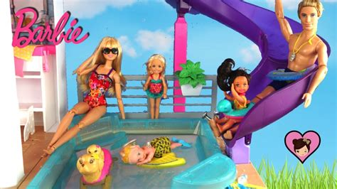 barbie adventure boat new barbie dreamhouse adventures pool swimming lessons for