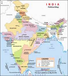 Political Map Of India by India Political Map Galleryhip Com The Hippest Galleries