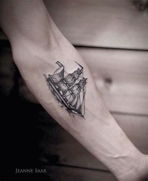 small nautical tattoos 25 best ideas about ship tattoos on ship