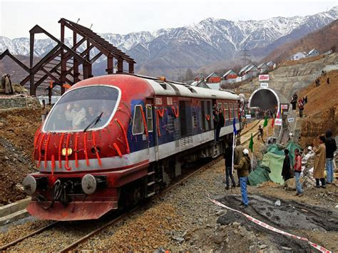 indian railways indian railways makes history connects kashmir valley to