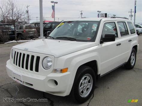 jeep new white 2008 jeep patriot sport in stone white clearcoat 708072