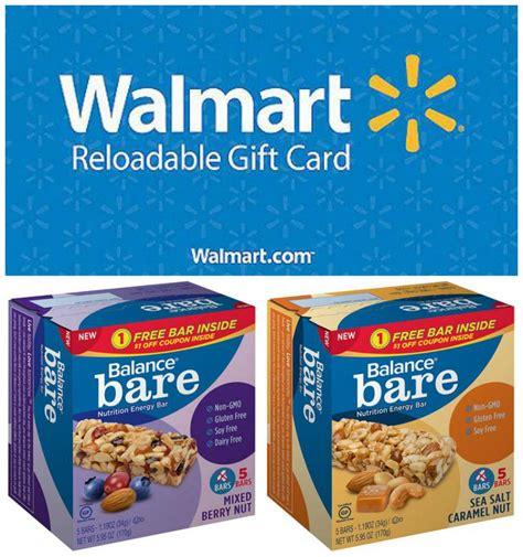 Walmart Gift Card Via Email - new balance bare bars walmart gift card giveaway bareatwalmart