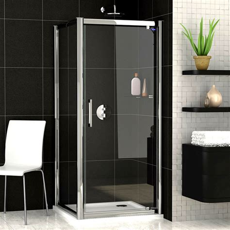 pivot door shower enclosure showerlux legacy pivot door shower enclosure uk bathrooms