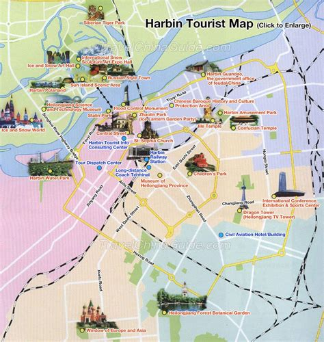 harbin attractions heilongjiang sightseeing sites