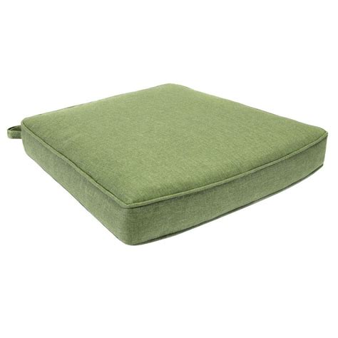 Replacement Patio Chair Cushions Hton Bay Clairborne Solid Green Replacement Outdoor Dining Chair Cushion Clac1cu Set The