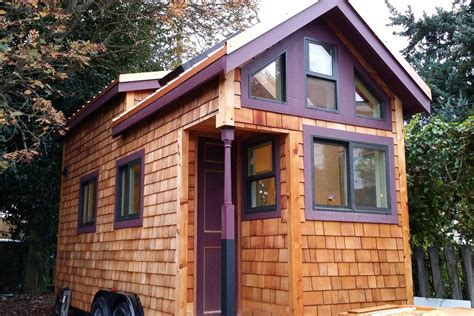 tiny house air bnb stay in hannah s tiny house in seattle small is beautiful