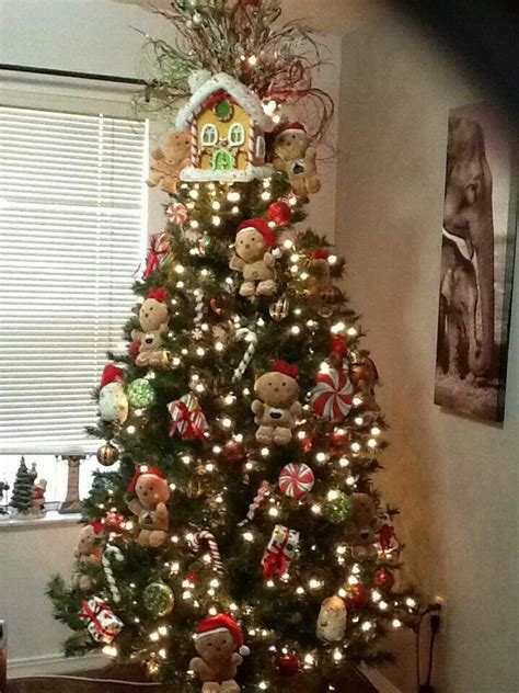 gingerbread themed trees 17 best images about gingerbread ideas on trees trees and decorated