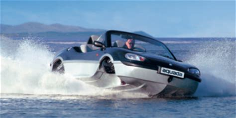 amphicar, the fastest car on water, the fastest boat on