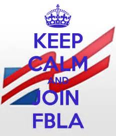 Wall Sayings Stickers keep calm and join fbla keep calm and carry on image