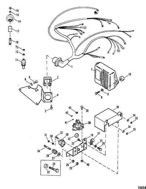 MerCruiser 5.7L MIE GM 350 V-8 1988-1993 Wiring Harness