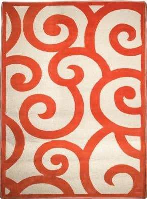 orange swirl rug ehsani rugs