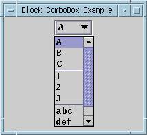 swing combobox jcombobox exles
