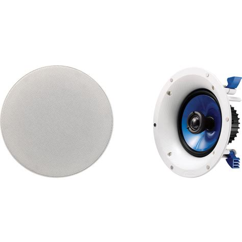 yamaha ns ic600 6 5 quot in ceiling speaker ns ic600 wh b h