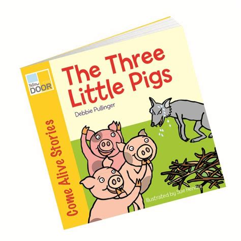 picture book stories the three pigs story book picture book and big book