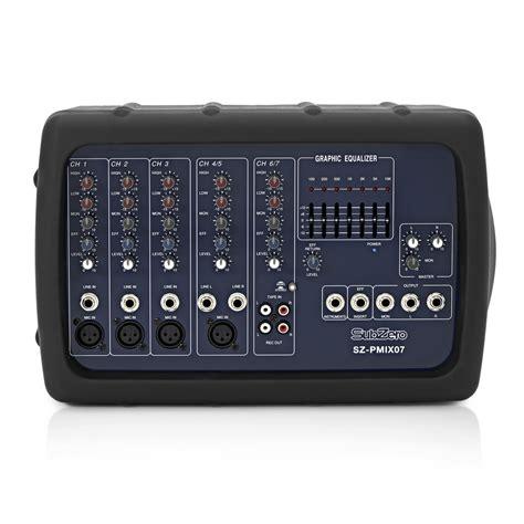 Mixer Di subzero 300w lightweight mixer attivi testa di gear4music