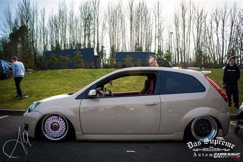 stanced smart car stanced ford fiesta 187 cartuning best car tuning photos