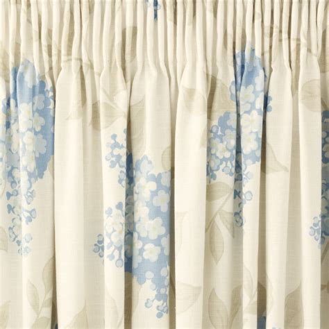 curtains portland portland floral pencil pleat ready made curtains