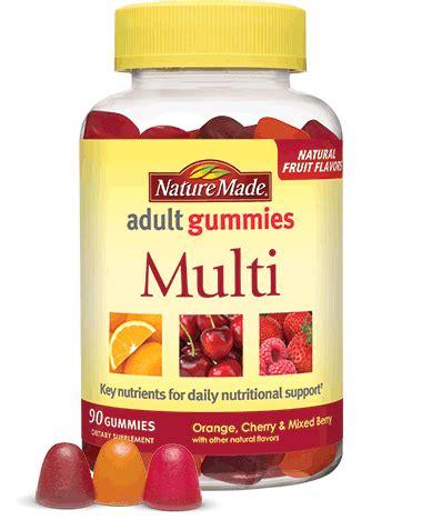 adult gummy multivitamins | nature made®