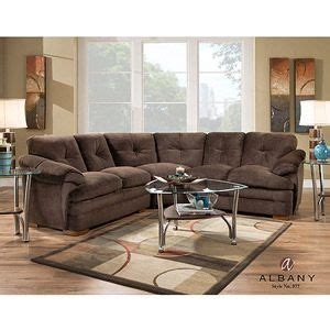 sectional sofas 700 albany allendale sectional sofa chocolate microfiber 700
