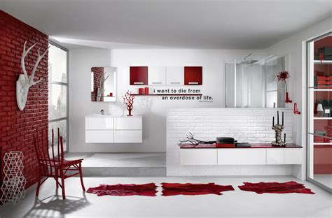 red and white bathroom black white and red bathroom decorating ideas 2017
