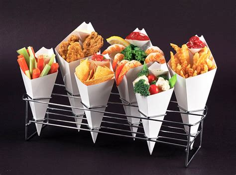 How To Make Paper Cones For Food - 4 reasons caterers mobile foodservice operators adore