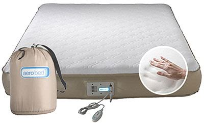 aerobed  memory foam full aero air bed mattress ebay