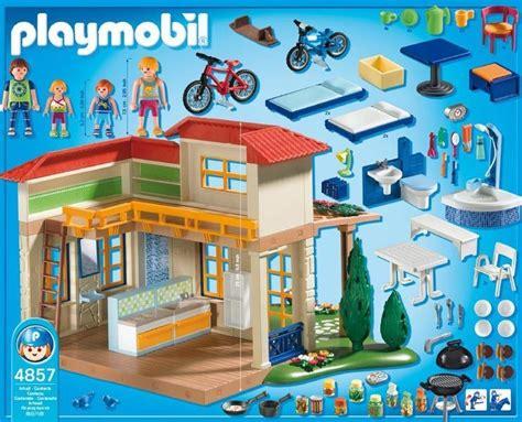 playmobil casa playmobil casa de verano juguetes jac