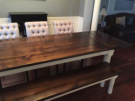 farmhouse table with extensions ana white farmhouse table bench extensions diy