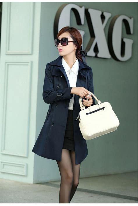 Blazer Wanita Modern jyb331179navy blazer wanita korea black blazer