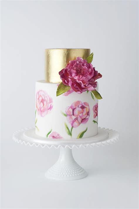 Chocolate Orchid Wedding Heels best 25 metallic wedding cakes ideas on