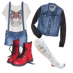 Fashion look from august 2015 featuring graphic print tees jean