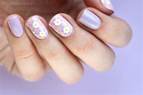 nail art ribbon design tutorial tutorial pastel mosaic easter nail art sonailicious