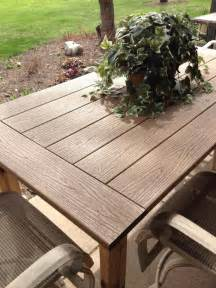Replacement Glass Top For Patio Table Kregjig Project Outdoor Table By Patrick Flynn Top Made