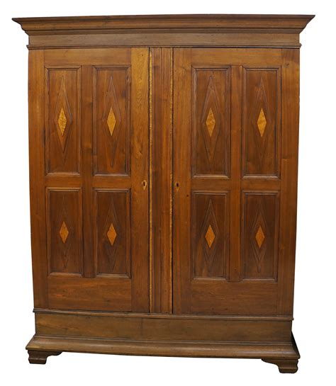 Maple Armoire by Antique Walnut Birds Eye Maple Wardrobe Armoire Chairish