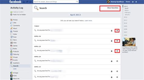 Fb Email Search Activity Log In Fb