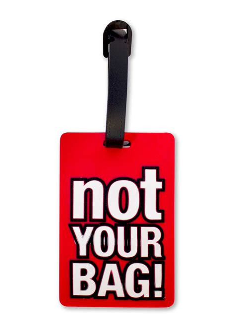 Your Bag by Luggage Tag Quot Not Your Bag Quot Cancer Crusaders